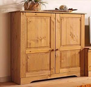 sideboard kommode 8815344 kiefer massiv gelaugt ge lt. Black Bedroom Furniture Sets. Home Design Ideas