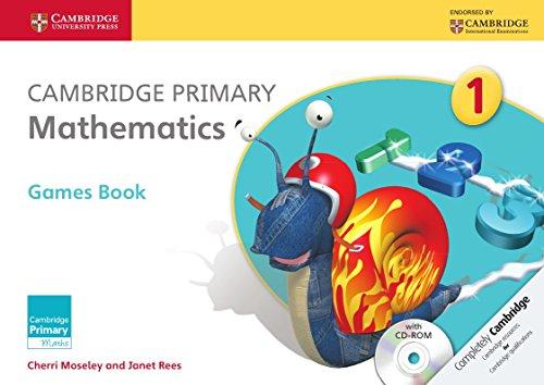 Cambridge Primary Mathematics. Games Book 1. Con CD-ROM (Cambridge Primary Maths)