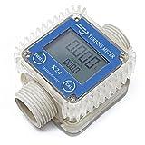 Wiltec Durchflussmesser Digital Digitalzählwerk 10-100 l/min AdBlue® Harnstoff Pumpe