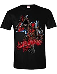 Deadpool Attack T-shirt noir