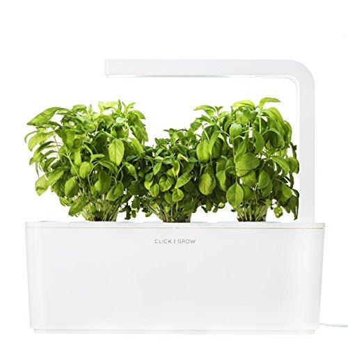 Click & Grow Smart Herb Garden - Jardinière d'intérieur - Blanc