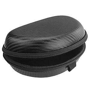 Geekria / Custodia per auricolari Ultrashell per Logitech H600, H900, custodia rigida/da viaggio, con spazio per cavo, parti e accessori, colore nero