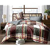 TIB Quilt Cover/Duvet Cover/Dohar Cover for Queen Size Bed - 90 X 100