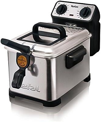 Tefal Filtra Pro Inox & Desing FR404730 - Freidora con capacidad de 3 litros