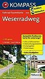 Weserradweg: Fahrrad-Tourenkarte. GPS-genau. 1:50000. (KOMPASS-Fahrrad-Tourenkarten, Band 7006) -