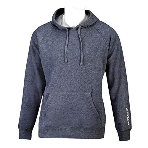 Bauer Core Fleece Hoody Senior, Größe:L, Farbe:Navy -