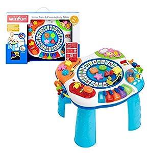 winfun - Mesa de actividades para bebés (44726)