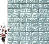 Umweltfreundliche Ziegelsteintapete, 3D-Wandaufkleber, Wasserdichte Anti-Kollisions-Tapete des Kindergartens Xpe Im Wohnzimmer,5,cm