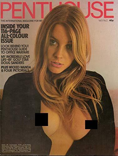 Penthouse Magazine, février 1974, volume 9, numéro 2, édition Golf Star Doug Sander