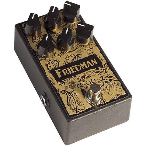 Friedman BE-OD LTD Browneye Overdrive · Pedal guitarra eléctrica