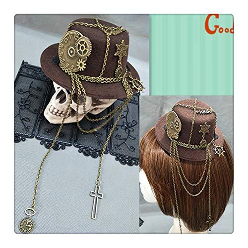 - Mini Steampunk Kostüme Hat