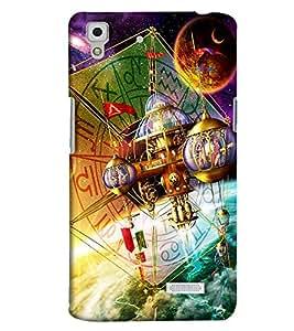 Clarks Printed Designer Back Cover For Oppo R7