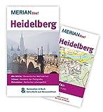MERIAN live! Reiseführer Heidelberg: MERIAN live! - Mit Kartenatlas im Buch und Extra-Karte zum Herausnehmen - Rüdiger Tschacher