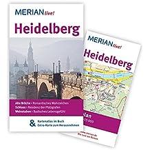 Heidelberg: MERIAN live! - Mit Kartenatlas im Buch und Extra-Karte zum Herausnehmen