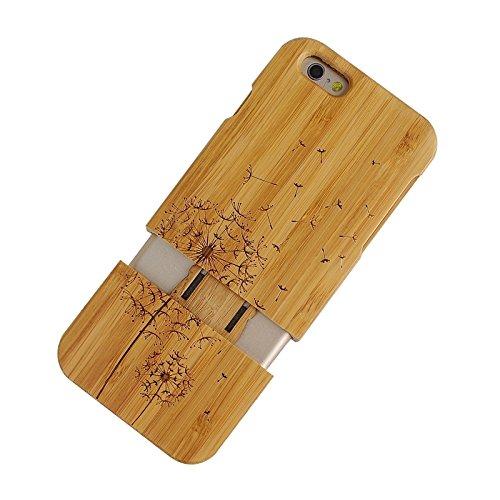 Phone case & Hülle Für IPhone 6 u. 6S, BRITISCHES Flaggen-Muster-trennbarer hölzerner Fall ( SKU : S-IP6G-0336P ) S-IP6G-0336P