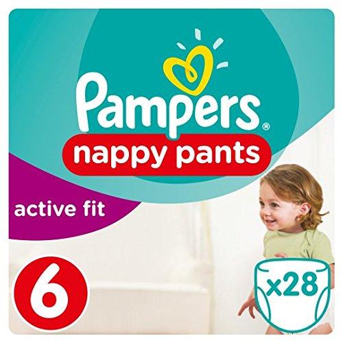 Verwöhnen Active Fit Pants Größe 6Essential Pack 28Windeln