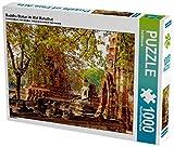 Buddha Statue im Wat Mahathat 1000 Teile Puzzle quer (CALVENDO Orte)
