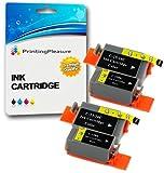 4 Tintenpatronen kompatibel zu Canon BCI-15/16 für Pixma IP90 i70 i80 Selphy DS700 DS810 MINI220 - Schwarz/Color, hohe Kapazität