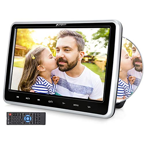 51xQBaFddGL. SS500  - PUMPKIN 10.1 Inch Car Headrest DVD Player for Kids with LCD TFT Screen Support AUX Sync Screen Region Free AV IN/OUT USB/SD Auto Resume
