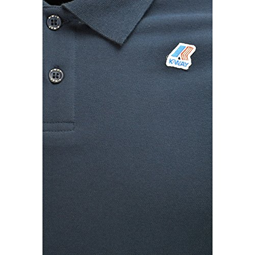 K-Way VINCENT CONTRAST PINK CRADLE Blau