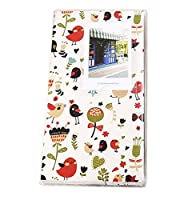 Lalo Novo 84 caselle Photo Album per Fujifilm Instax Mini 7s 8 25 50 90 Film / Polaroid Z2300 PIC-300 Film / carta di nome - Flores y pájaros