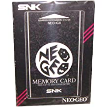 NEO GEO AES Memory Card NEO-IC8 Neogeo Import JAPAN Video Game