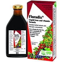 Floradix Iron Vitamin Formula Liquid, 500 ml