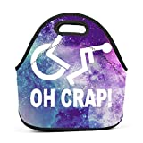 Best Hot Wheels Lunch Boxes - Dozili Crap Handicap Wheelchair Large & Thick Neoprene Review