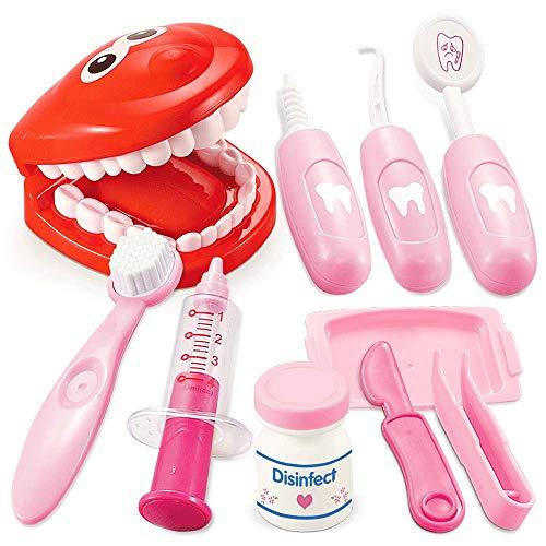 Little Toys Infantil Educativo Dentista Simulación Juguete Inyección Chica Enfermera Educación de Educación Temprana de América del Norte Conjunto Simulación Cepillo de Dientes