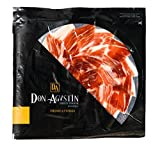 Teller Pata Negra Schinken aus Eichelmast Don Agustín Handgeschnitten In Scheiben 100 g | Iberischer Schinken aus Spanien
