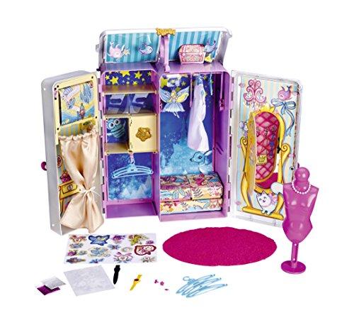 Famosa 700013050 Nancy, Armario vestidor de cuento, accesorios para muñecas