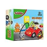 ROSMARINO Bausteine Spielzeug für Kinder ab 3 Jahre - 13 Teile Kompatibel mit Allen Großen Marken - CE Sicherheitszertifikat - Tolle Kinder Geschenke - Kiddo Junior