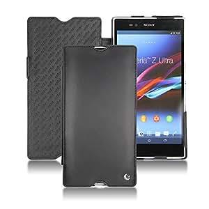Lederschutzhülle Sony Xperia Z Ultra - Perpétuelle - Noir