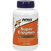 Now Foods Super Enzyme Enzymmischung für gesunde Verdauung, 90 Tabletten preisvergleich bei billige-tabletten.eu