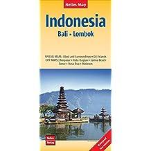 Nelles Map Landkarte Indonesia : Bali, Lombok: reiß- und wasserfest; waterproof and tear-resistant; indéchirable et imperméable; irrompible & impermeable | 1 : 180,000 (Nelles Map / Strassenkarte)