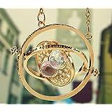 Fashion Jewelry - Catenina con ciondolo a forma di Giratempo (Harry Potter)