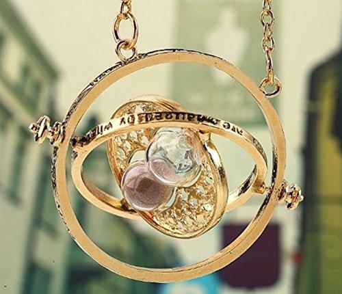 Fashion Jewery Harry Potter Réplique du collier Retourneur de temps d'Hermione Granger