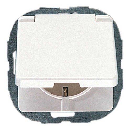 Preisvergleich Produktbild REV Ritter 0500292551 AquaKombi Steckdose mit Kinderschutz, weiß