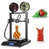 Offizielle Creality 3D CR-X Drucker Dual Farbe Düse Druck mit Touchscreen Große Druckgröße 300 * 300 * 400mm mit 2kg PLA
