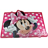 Disney Minnie Mouse Holographic 3D Dinner Place Mat ( Big Pink Bow )