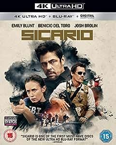 Sicario [4K Ultra HD] [2016] [Blu-ray]