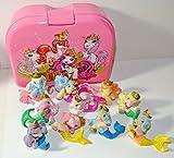 Filly Pferdchen Custom Set: Frühstücksbox mit Glitzer Mermaids Serie (ohne Glitterina)