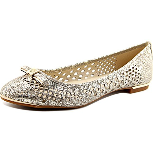 Vince Camuto Celindan Femmes Cuir Chaussure Plate Goddess Gold