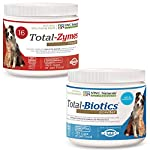 NWC Naturals Total-Digestion Mini-twin Pack Total-Zymes, Total-Biotics Each Jar Treats 100 Cups of Food by Natural Wellness Centers of America Inc [Pet Supplies]