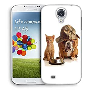 Snoogg Hungry For Food Printed Protective Phone Back Case Cover For Samsung S4 / S IIII