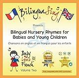 CD de comptines anglaises et françaises | Anglais pour les tout-petits et bébés | BILINGUASING Vol. 2 CD (Baby Loves French