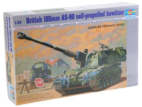 Trumpeter 00324 Modellbausatz Britische 155 mm AS-90 Selbstfahrlafette