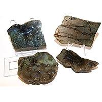 Labradorit Kristallen Slice Set–Eine Seite poliert und Raw Teile–labsl01 preisvergleich bei billige-tabletten.eu
