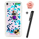 iPod Touch 5th Hülle,iPod Touch 6th Case,iPod Touch 5th Liquid Bling Silikon...