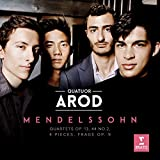 Mendelssohn : Quatuors Op 13, Op 44/2, Op 81